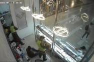 Robo en joyería de Barranquilla