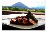 'La Montaña Sagrada', plato típico de Venecia, Antioquia.