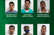 Estas personas fueron detenidas inicialmente, señaladas de cometer delitos como el tráfico local de estupefacientes y hurto.