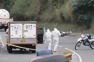 Motociclista murió al chocar con un carrotanque en  el barrio Robledo de Medellín