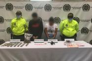 "Dos jibaros del barrio Antioquia los cogieron con ""cocaína rosada"""