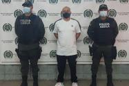 """La policía capturó a alias """"Corozo"""" uno de los duros de la vereda Ajizal de Itagüí"""