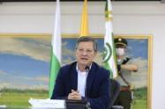 El secretario de Gobierno, Luis Fernando Suárez, encabeza nuevamente la terna.