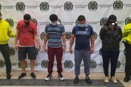 Cogieron a once de los gatilleros de las bandas más temibles de Medellín y Bello