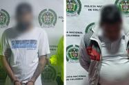 """""""Jara"""" y """"El Primo"""" gatilleros responsables de dos homicidios en Medellín y Bello"""