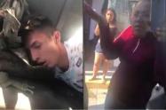 """[Video] """"Roba, pero es un buen muchacho"""": la defensa de familiares de ladrón"""
