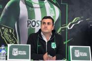 Juan David Pérez renunció a Atlético Nacional