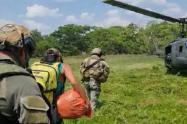 Rescate de uno de los jóvenes desaparecidos en  Valdivia