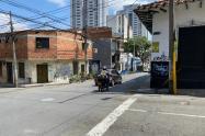 Riña callejera terminó con un muerto en el centro de Medellín