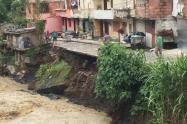 Afectaciones por las lluvias en Salgar, Antioquia.