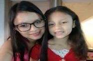 Elizabeth Flórez Cifuentes y su hija Melisa Flórez Cifuentes.