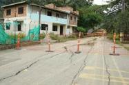 Falla estructural en Copacabana, Antioquia.