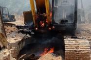 Destruyen un yacimiento minero ilegal perteneciente al Clan de Golfo en Zaragoza, Antioquia