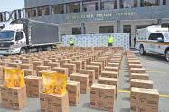 El alimento estaba valorado en 90 millones de pesos, informaron las autoridades.
