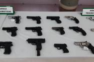 En una semana decomisan 14 armas de fuego en Medellín
