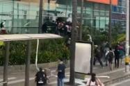 23 personas han sido capturadas durante estas manifestaciones, indicaron las autoridades.