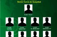 Ofrecen $20 millones por los duros de la banda criminal de Caicedo de Medellín