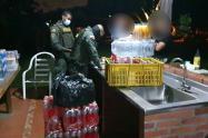 ¡Irresponsables! 45 adultos y 15 menores en fiestas clandestinas en Medellín y Copacabana