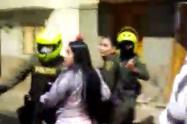 Un policía le dispara a una mujer en la Ceja, Antioquia