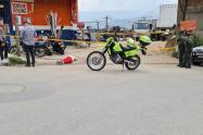 Motorizados asesinaron a un joven en el corregimiento de Manzanillo de Itagüí