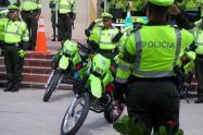 Policías de Bucaramanga