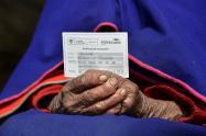 Vacunación covid en Colombia en adultos mayores