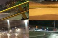 Desbordamiento del río Medellín.