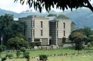 Cementerio Jardines Montesacro en Itagüí, Antioquia.