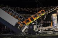 Accidente metro México