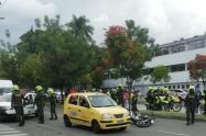 Este homicidio fue perpetrado por motorizados, indicaron las autoridades.