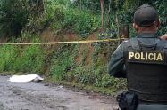 De dos puñaladas mataron a un abuelito de 73 años en Barbosa, Antioquia