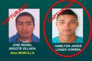 """Capturan uno de los duros del """"Mesa"""" en el municipio de Sonsón, Antioquia"""