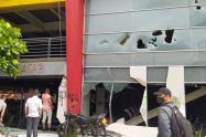 El hecho no dejó personas lesionadas, informaron las autoridades.