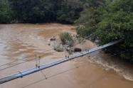 Este cuerpo fue encontrado en el río Medellín.