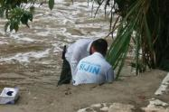 Este cuerpo fue encontrado en el río Medellín, informaron las autoridades.