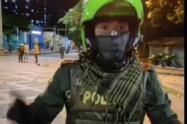 Policía de Medellín explicó el momento en que la marcha pacífica se convirtió en disturbio