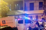 Una mujer encontró a su mamá asesinada en el barrio Santa Cruz de Medellín