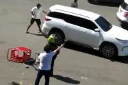 Ocho heridos en choques de civiles acompañados de policías con minga indígena en Cali