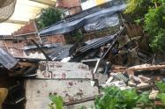 Emergencias por las lluvias en Marinilla, Antioquia.