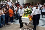 Funeral de Lucas Villa