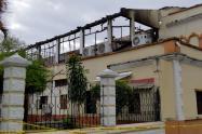 Así quedó el Palacio de Justicia de Tuluá (Valle del Cauca)