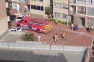 Incendio en Betania