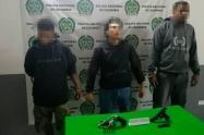 En lo que va corrido del año han sido capturadas por porte ilegal de armas de fuego 189 personas en el Área Metropolitana.