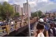 El Esmad detuvo una marcha que dirigía hacia el Poblado