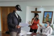Recaptura del gobernador de Antioquia, Aníbal Gaviria, el pasado 3 de marzo.