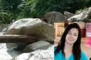 Hallan cadáver de una mujer en la quebrada La josefina de San Luis, Antioquia