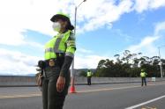 Referencia Policía de Carreteras en Medellín.