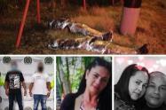 """Dos de los """"Triana"""" serían los responsables de asesinar y """"embolsar"""" a tres personas en Bello y Copacabana"""