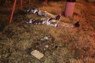 Identifican a las 2 mujeres y el hombre hallados embolsados en Bello y Copacabana