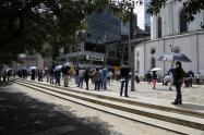 Filas en Colombia/ desempleo